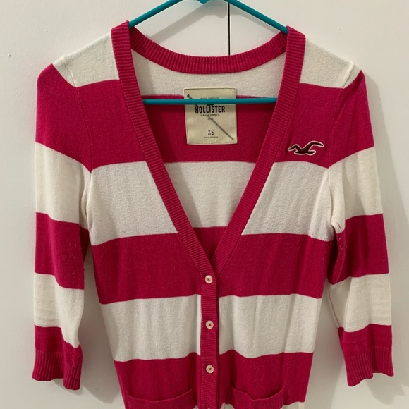 Hollister 34 sleeve cardigan